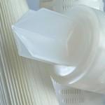 Filterkerzen mit plissierter Oberfläche