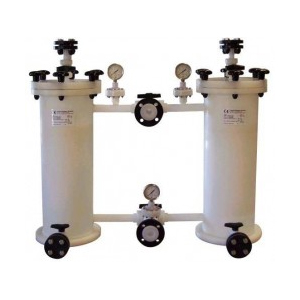 Thermoplastic filterhuizen